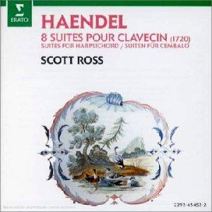 G.F. Haendel - Suites pour clavecin