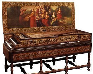 Clavecin et virginal flamand - 1619