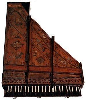Clavecin brisé - 1709